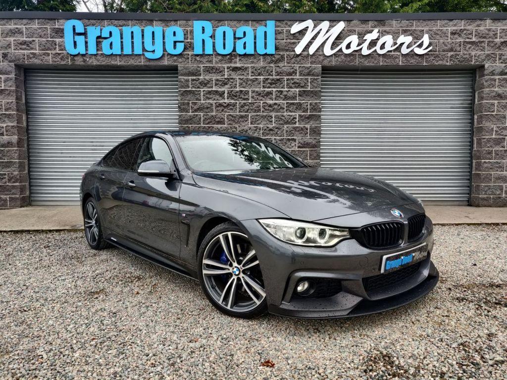 2017 BMW 4 Series 2.0 420D M SPORT PLUS GRAN COUPE   M-PERFORMANCE Diesel Automatic  – Grange Road Motors Cookstown full