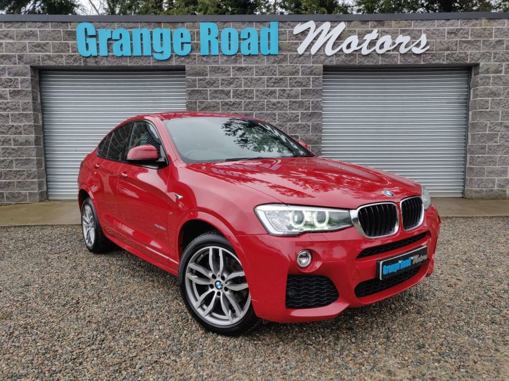 2016 BMW X4 2.0 XDRIVE20D M SPORT Diesel Automatic  – Grange Road Motors Cookstown