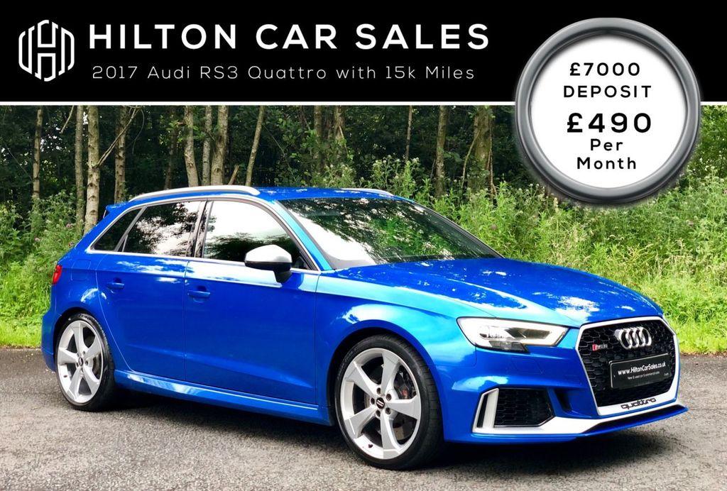 2017 Audi A3 2.5 RS 3 QUATTRO Petrol Semi Auto  – Hilton Car Sales Ballymena