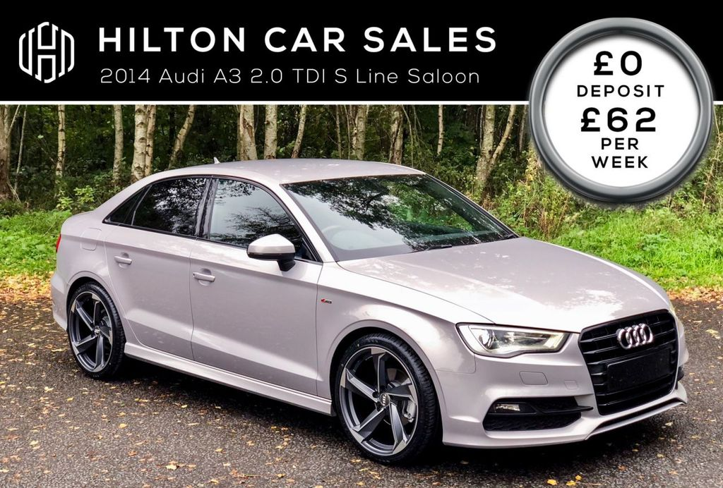 2014 Audi A3 2.0 TDI S LINE 4 door Diesel Manual  – Hilton Car Sales Ballymena