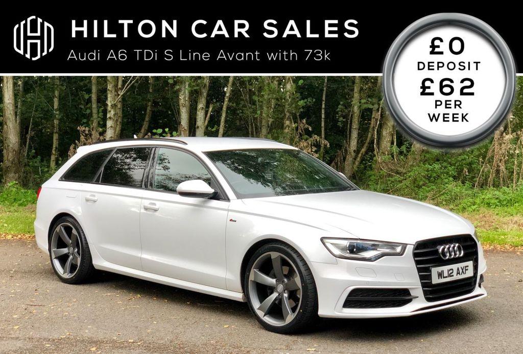 2012 Audi A6 2.0 AVANT TDI S LINE Diesel Manual  – Hilton Car Sales Ballymena