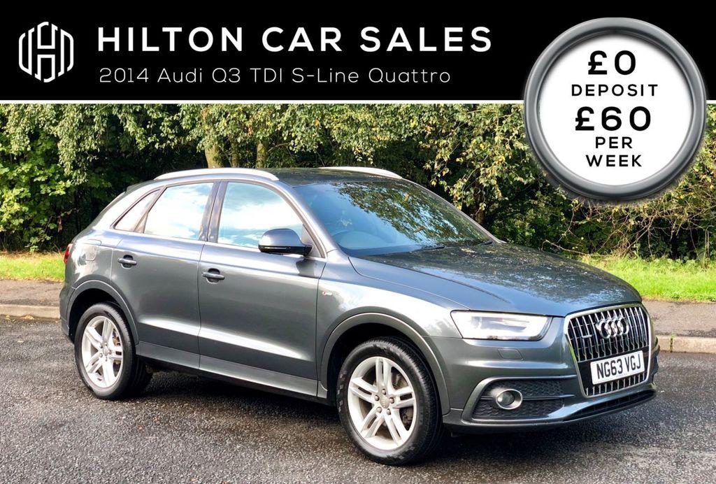 2014 Audi Q3 2.0 TDI QUATTRO S LINE Diesel Manual  – Hilton Car Sales Ballymena