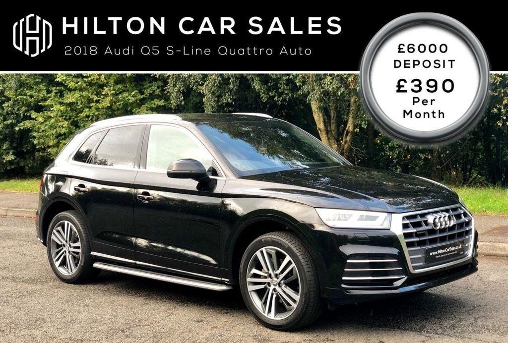 2018 Audi Q5 2.0 TDI QUATTRO S LINE Diesel Semi Auto  – Hilton Car Sales Ballymena