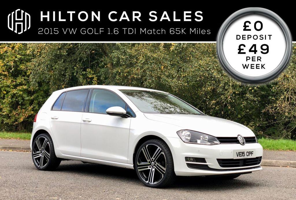 2015 Volkswagen Golf 1.6 MATCH TDI BLUEMOTION TECHNOLOGY Diesel Manual  – Hilton Car Sales Ballymena