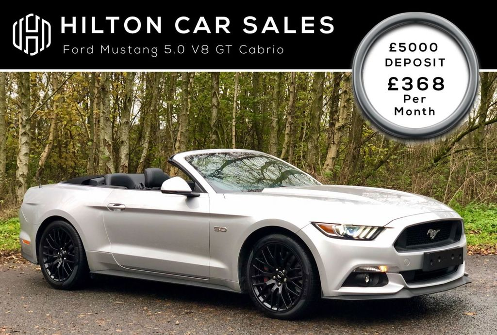 2015 Ford Mustang 5.0 GT Petrol Automatic  – Hilton Car Sales Ballymena