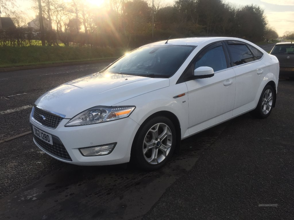 2010 Ford Mondeo TITANIUM  X  TDCI  140  MASSIVE  SPEC Diesel Manual 6 speed  – JF Car Sales Ballymoney