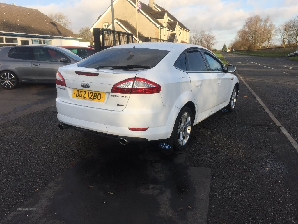 2010 Ford Mondeo TITANIUM  X  TDCI  140  MASSIVE  SPEC Diesel Manual 6 speed  – JF Car Sales Ballymoney full