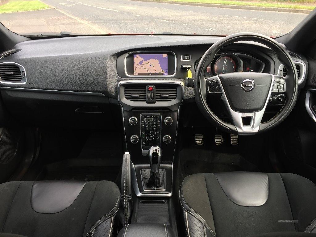 2017 Volvo V40 D2  [120]  R  DESIGN  Nav  Plus  5dr  Great  Spec. Diesel Manual  – JF Car Sales Ballymoney full