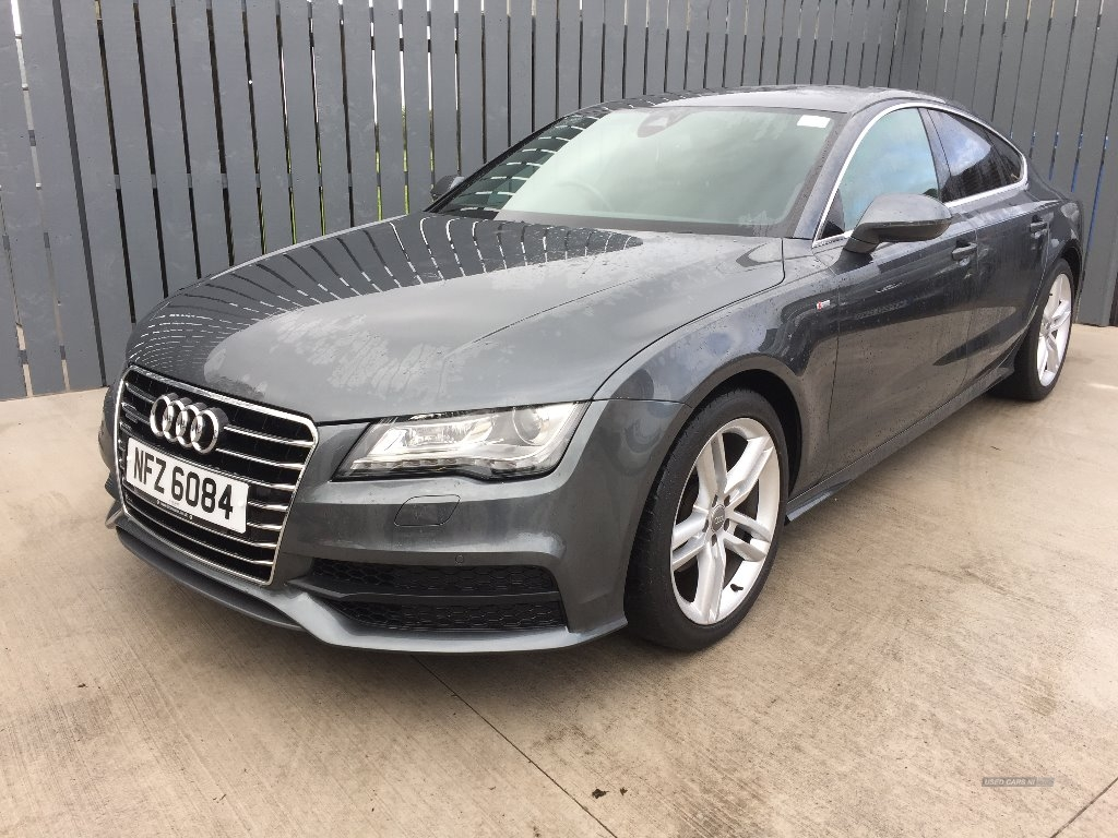 2013 Audi A7 3.0  TDI  Quattro  204  S  Line  5dr  S  Tronic  [5  Seat] Diesel Automatic/Other  – JF Car Sales Ballymoney