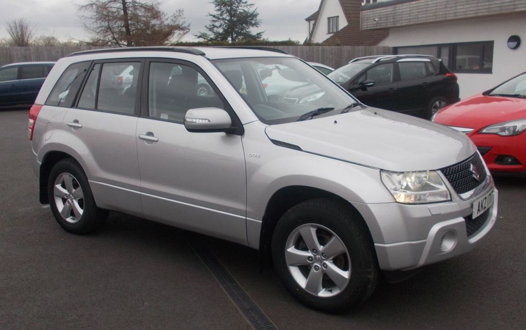 2009 Suzuki Grand Vitara 1.9 SZ4 DDIS Diesel Manual  – Jim Monaghan Car Sales Downpatrick
