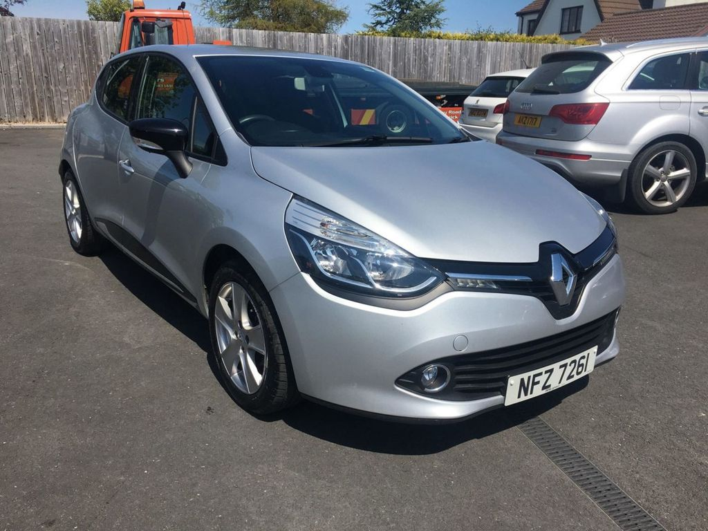 2013 Renault Clio 1.1 DYNAMIQUE MEDIANAV Petrol Manual  – Jim Monaghan Car Sales Downpatrick