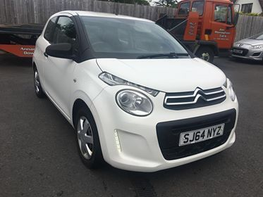2014 Citroen C1 1.0 TOUCH Petrol Manual  – Jim Monaghan Car Sales Downpatrick
