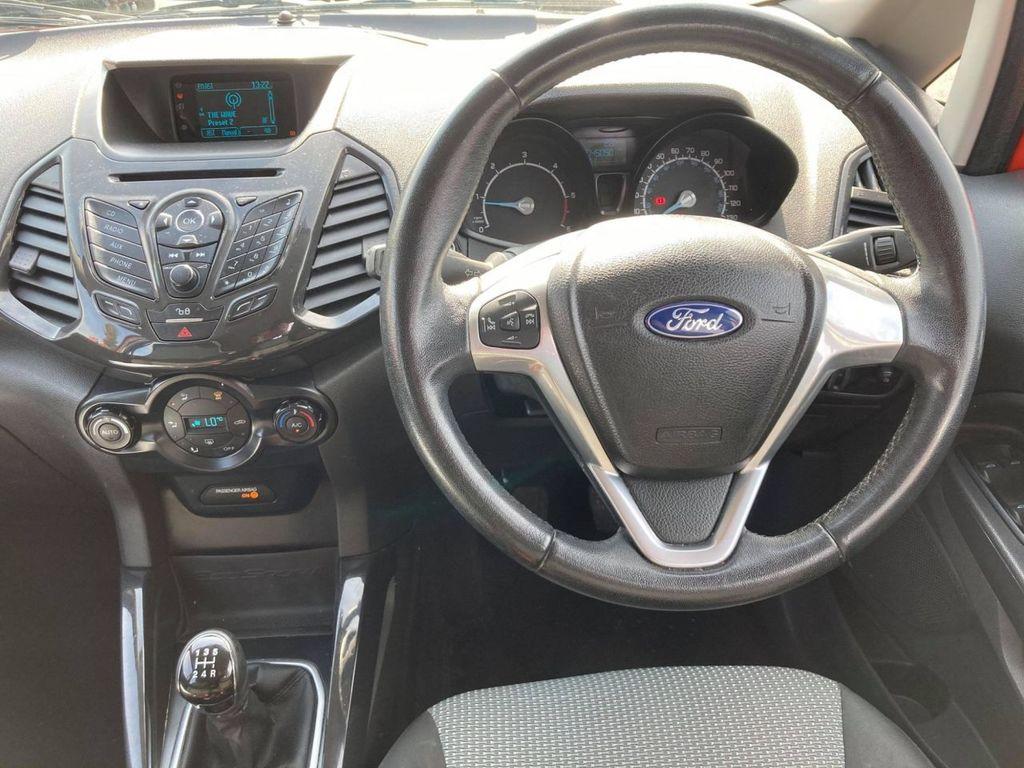 2014 Ford Ecosport 1.5 TITANIUM TDCI Diesel Manual  – Jim Monaghan Car Sales Downpatrick full