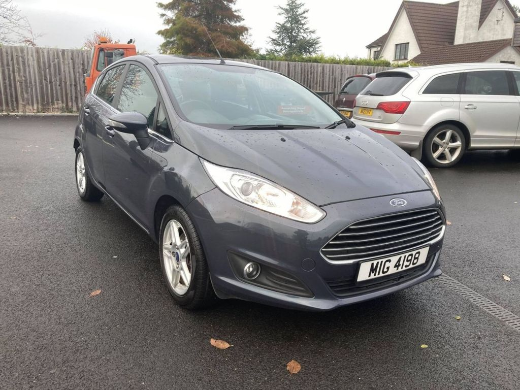 2014 Ford Fiesta 1.5 ZETEC TDCI Diesel Manual  – Jim Monaghan Car Sales Downpatrick