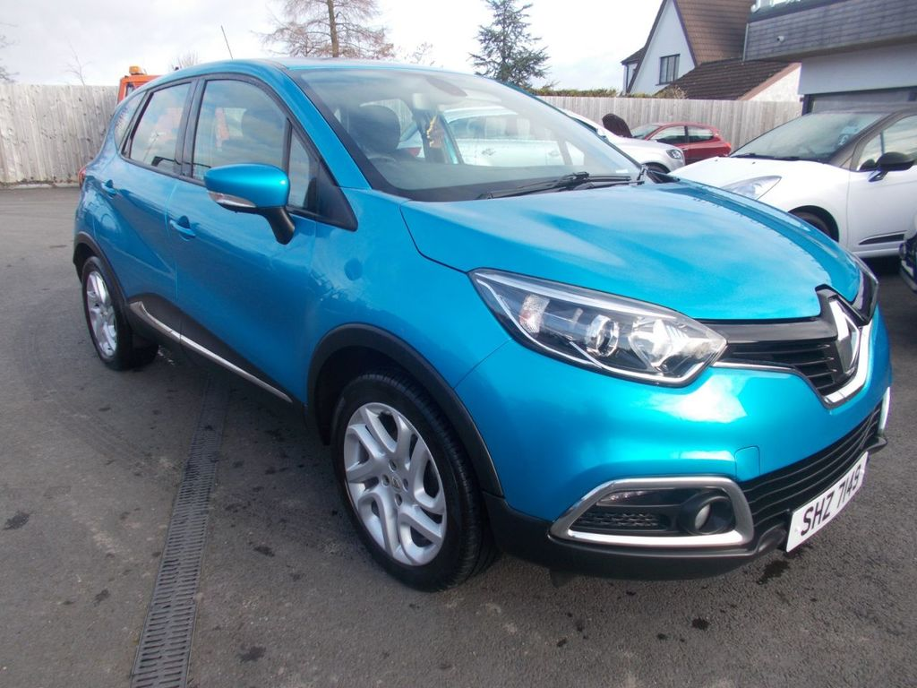 2014 Renault Captur 1.5 DYNAMIQUE MEDIANAV ENERGY DCI S/S Diesel Manual  – Jim Monaghan Car Sales Downpatrick