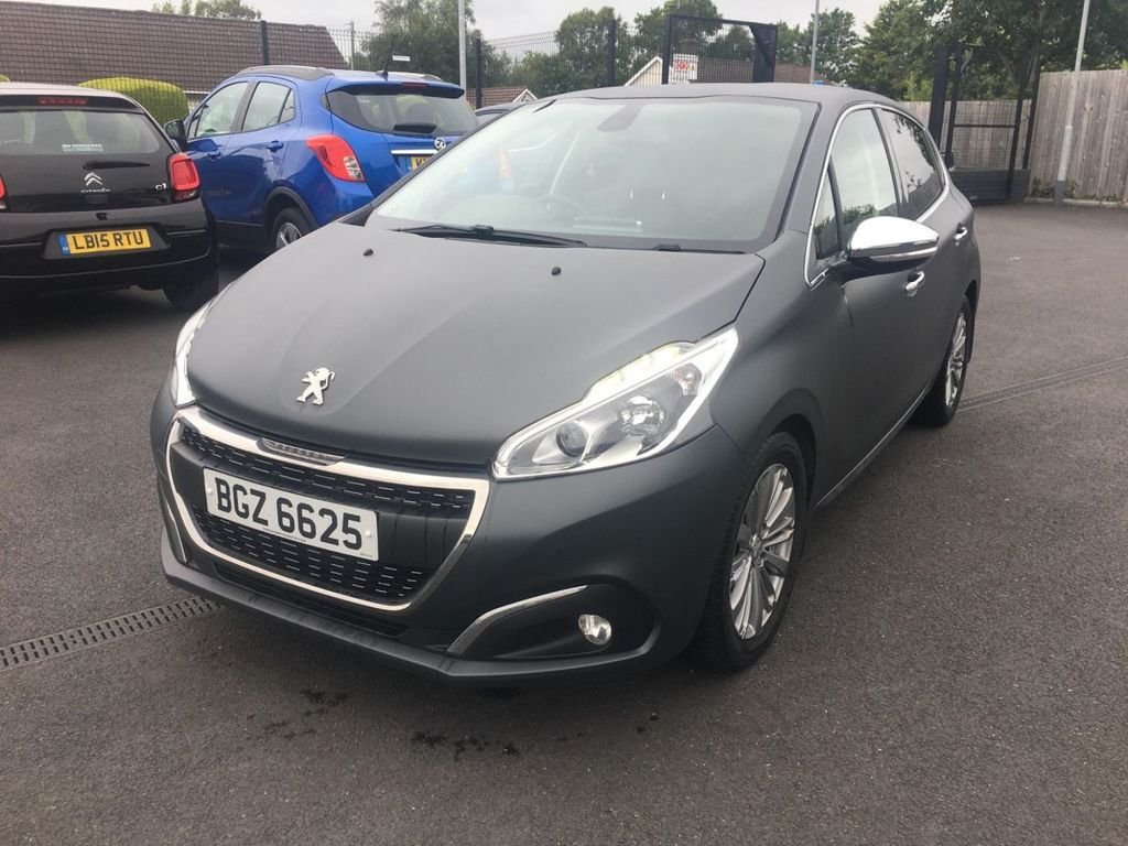 2015 Peugeot 208 1.6 BLUE HDI S/S ALLURE Diesel Manual  – Jim Monaghan Car Sales Downpatrick