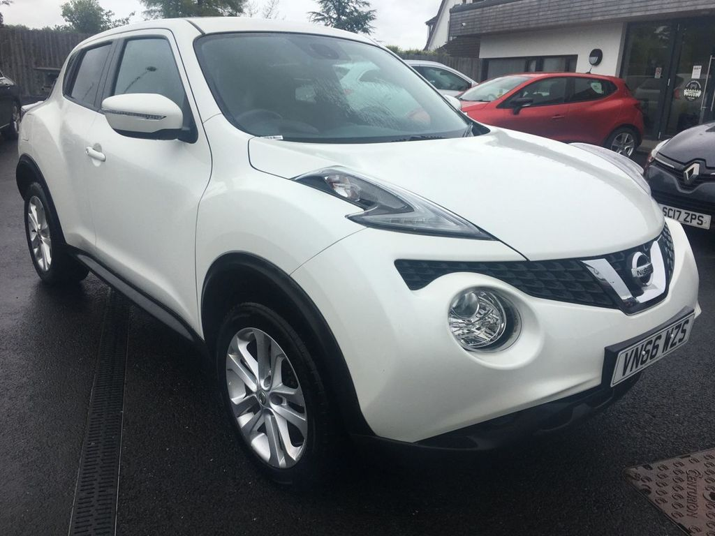 2016 Nissan Juke 1.5 N-CONNECTA DCI Diesel Manual  – Jim Monaghan Car Sales Downpatrick