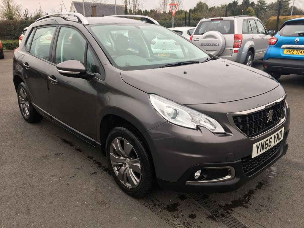 2016 Peugeot 2008 1.6 BLUE HDI ACTIVE Diesel Manual  – Jim Monaghan Car Sales Downpatrick