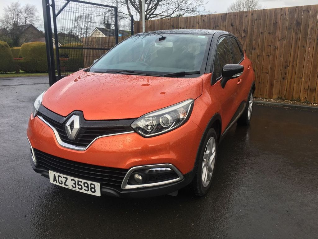 2016 Renault Captur 0.9 DYNAMIQUE NAV TCE Petrol Manual  – Jim Monaghan Car Sales Downpatrick full