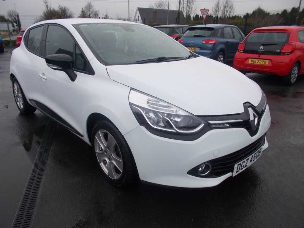 2016 Renault Clio 0.9 DYNAMIQUE NAV TCE Petrol Manual  – Jim Monaghan Car Sales Downpatrick