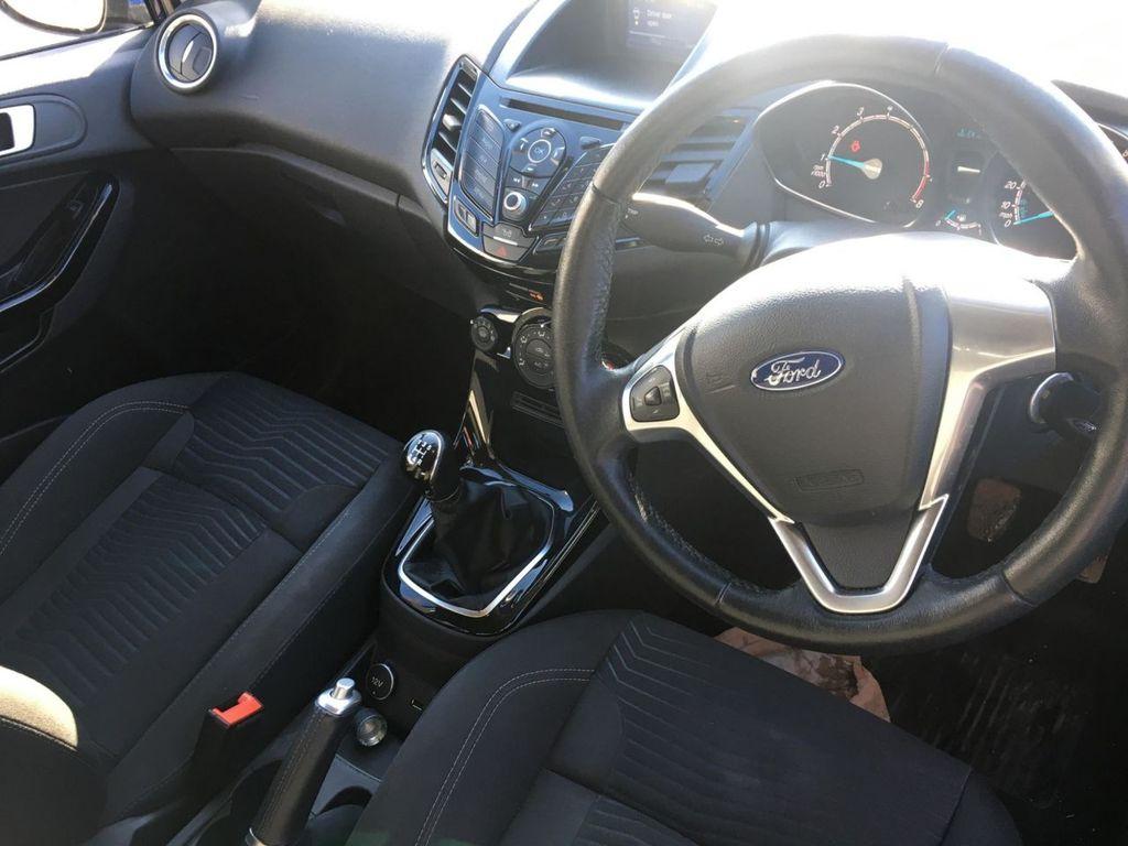 2017 Ford Fiesta 1.2 ZETEC Petrol Manual  – Jim Monaghan Car Sales Downpatrick full