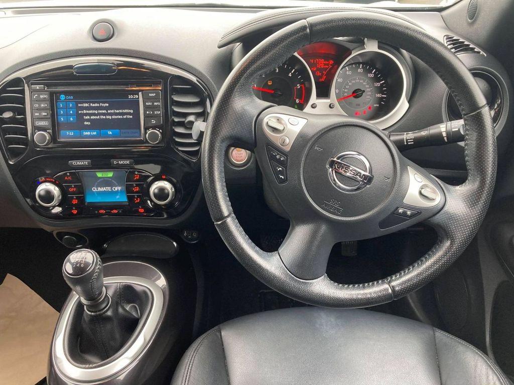 2017 Nissan Juke 1.5 TEKNA DCI Diesel Manual  – Jim Monaghan Car Sales Downpatrick full