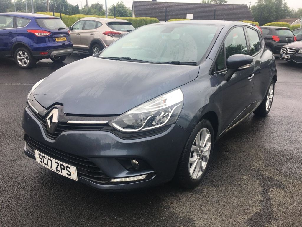 2017 Renault Clio 1.1 DYNAMIQUE NAV Petrol Manual  – Jim Monaghan Car Sales Downpatrick