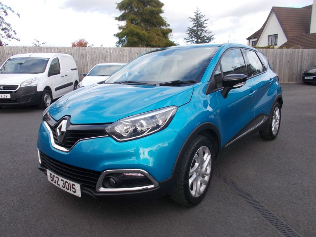 2016 Renault Captur 0.9 DYNAMIQUE NAV TCE Petrol Manual  – Jim Monaghan Car Sales Downpatrick