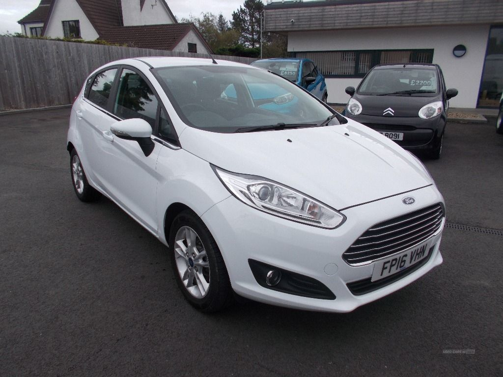 2016 Ford Fiesta 1.5 ZETEC TDCI Diesel Manual  – Jim Monaghan Car Sales Downpatrick