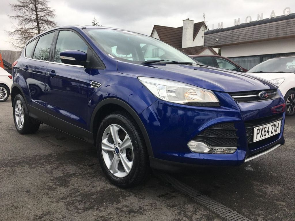 2014 Ford Kuga 2.0 ZETEC TDCI Diesel Manual  – Jim Monaghan Car Sales Downpatrick