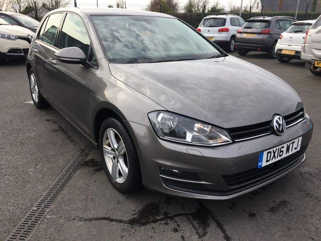 2016 Volkswagen Golf 1.6 MATCH EDITION TDI BMT Diesel Manual  – Jim Monaghan Car Sales Downpatrick full