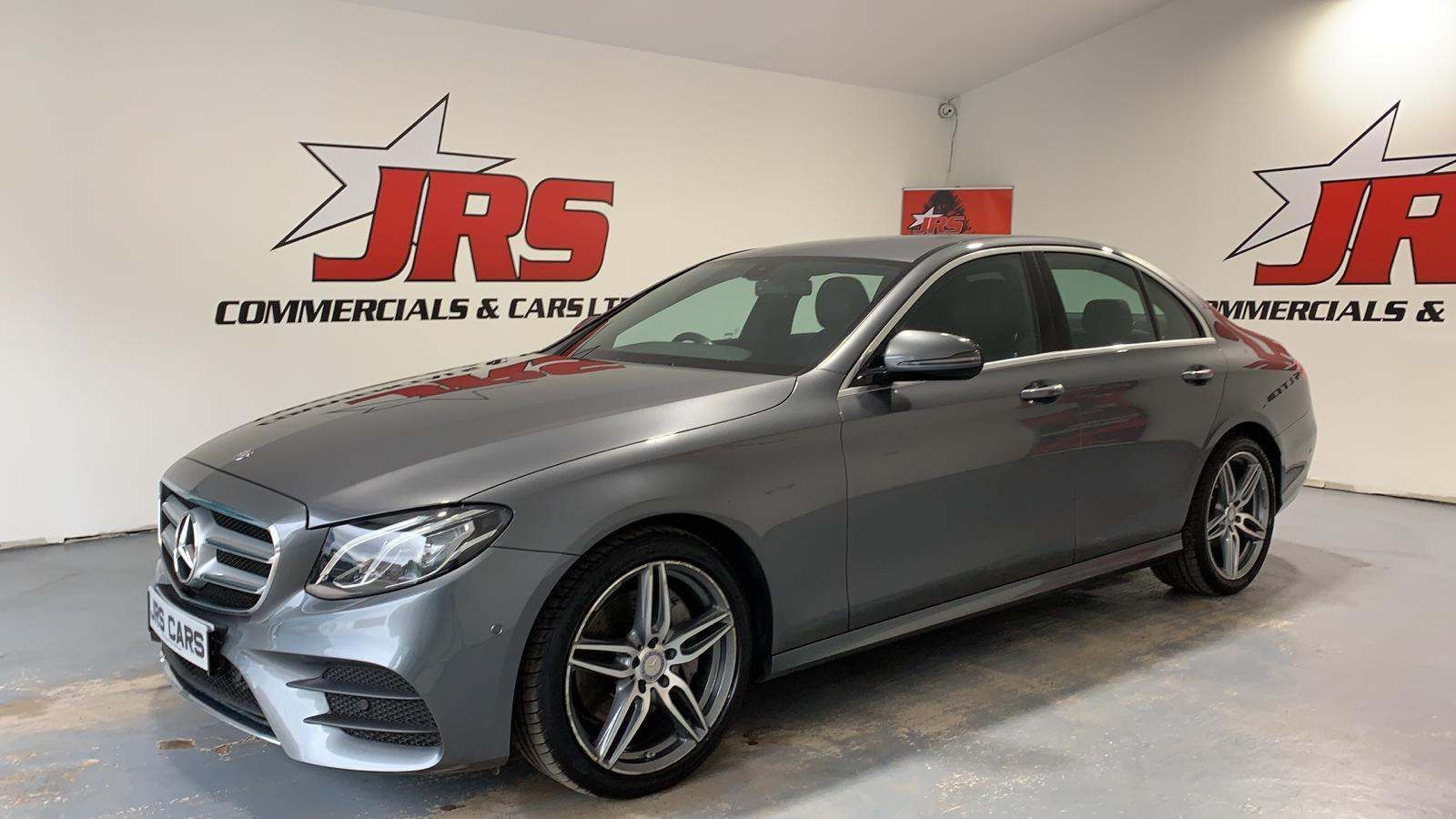 2017 MERCEDES BENZ E Class 2.0 E220d AMG Line G-Tronic+ (s/s) Diesel Automatic Sat Nav- Reversing Camera – J R S Commercials And Cars Dungannon full