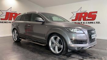 2015 AUDI Q7 3.0 TDI S line Style Edition Tiptronic quattro Diesel Automatic Rev Cam – Tow Bar – 7 Seats – J R S Commercials And Cars Dungannon