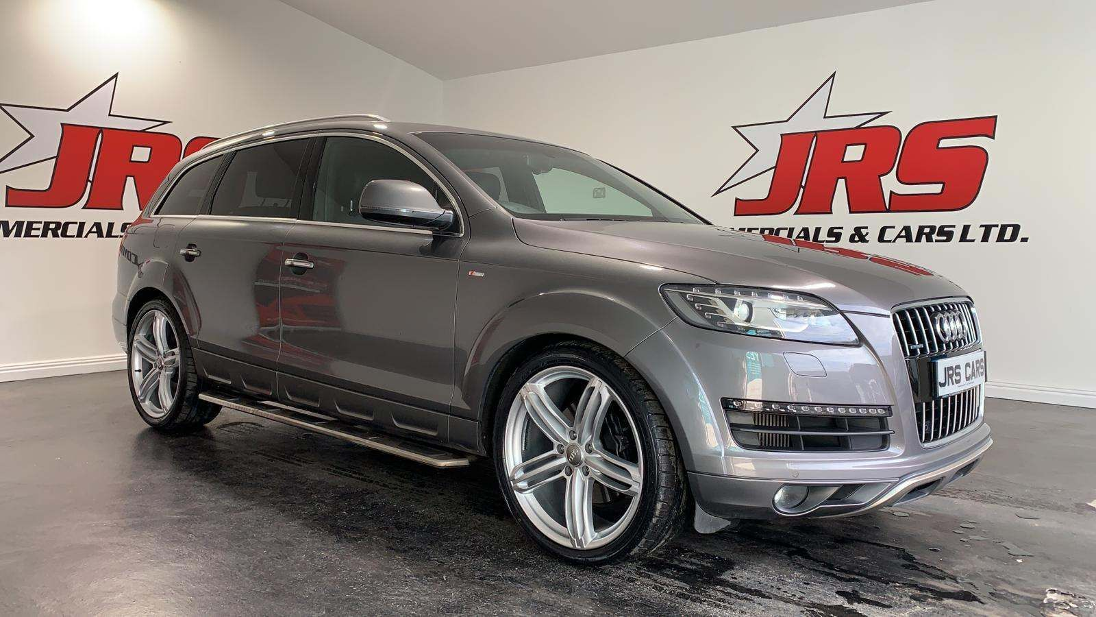 2015 AUDI Q7 3.0 TDI S line Style Edition Tiptronic quattro Diesel Automatic Rev Cam – Tow Bar – 7 Seats – J R S Commercials And Cars Dungannon full