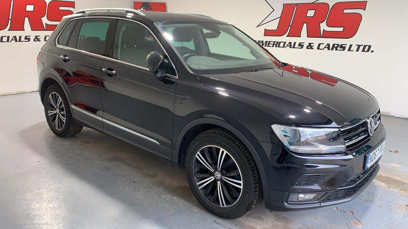 2018 VOLKSWAGEN Tiguan 2.0 TDI SE (s/s) Diesel Manual **Deep Black Pearl** – J R S Commercials And Cars Dungannon full