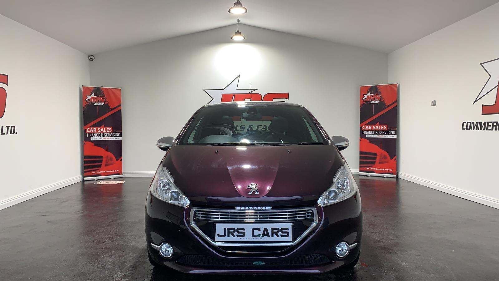 2013 PEUGEOT 208 1.6 VTi XY Petrol Manual **Pan Roof-Half Leather** – J R S Commercials And Cars Dungannon full