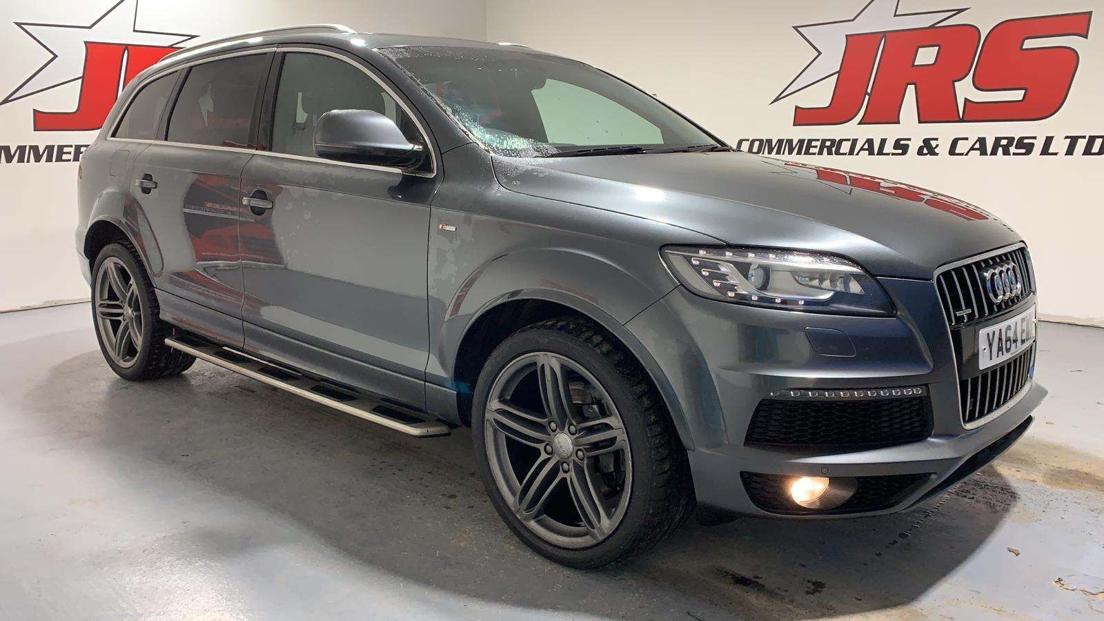 2015 AUDI Q7 3.0 TDI S line Plus Tiptronic quattro Diesel Automatic **Full Leather** – J R S Commercials And Cars Dungannon
