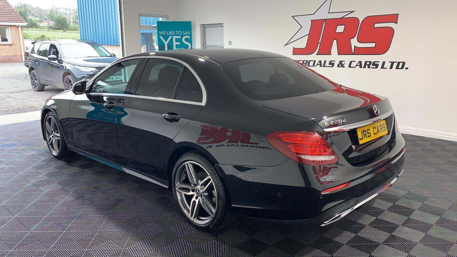 2018 MERCEDES BENZ E Class 2.0 E220d AMG Line G-Tronic+ (s/s) Diesel Automatic *Heated Seats* – J R S Commercials And Cars Dungannon full