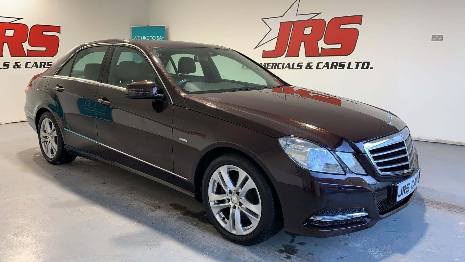 2010 MERCEDES BENZ E Class 2.1 E250 CDI BlueEFFICIENCY Avantgarde Diesel Automatic **Full Leather-SatNav** – J R S Commercials And Cars Dungannon