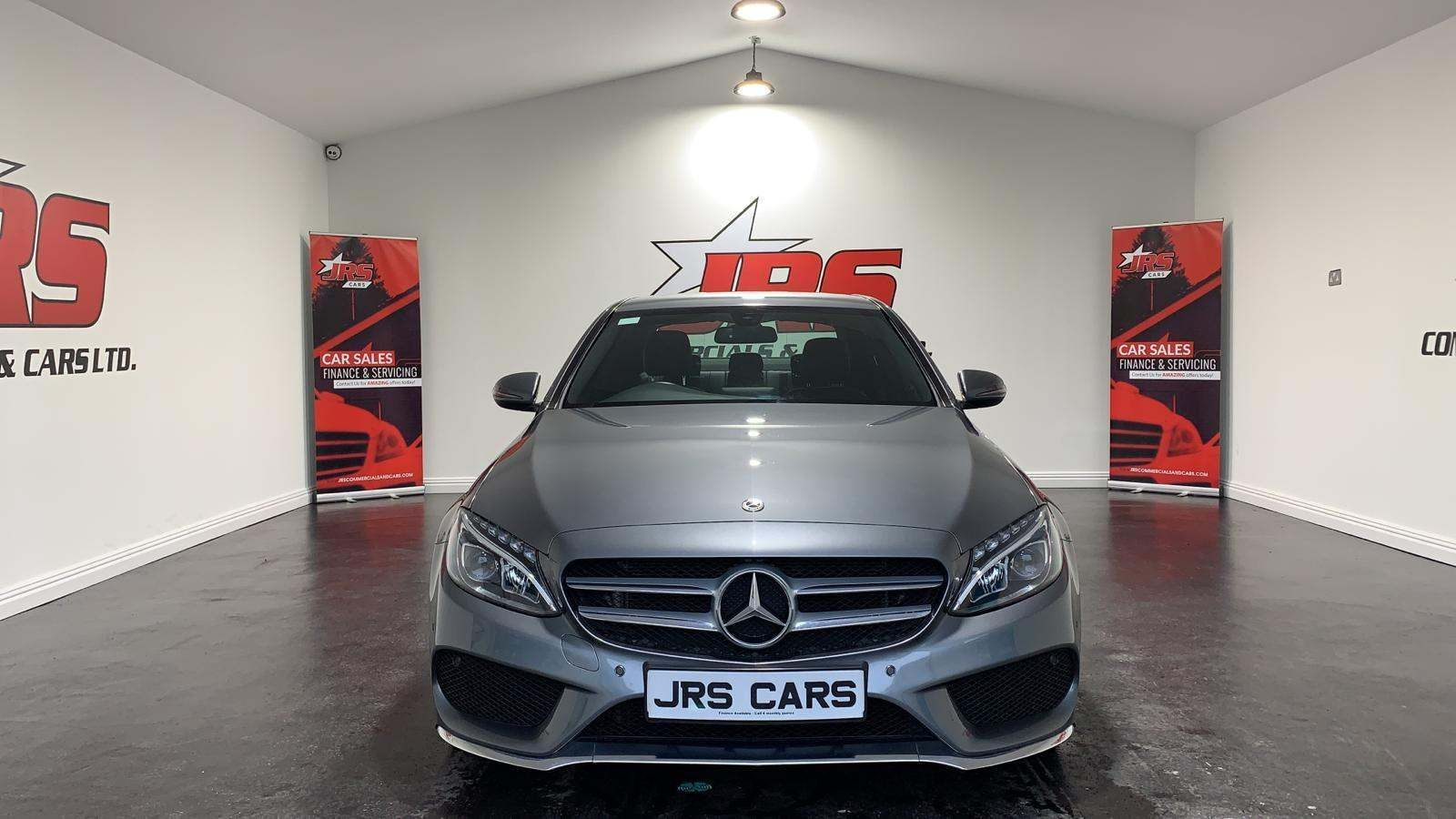 2018 MERCEDES BENZ C Class 2.1 C220d AMG Line G-Tronic+ (s/s) Diesel Automatic Merc Warranty Expires 30/04/21 – J R S Commercials And Cars Dungannon full