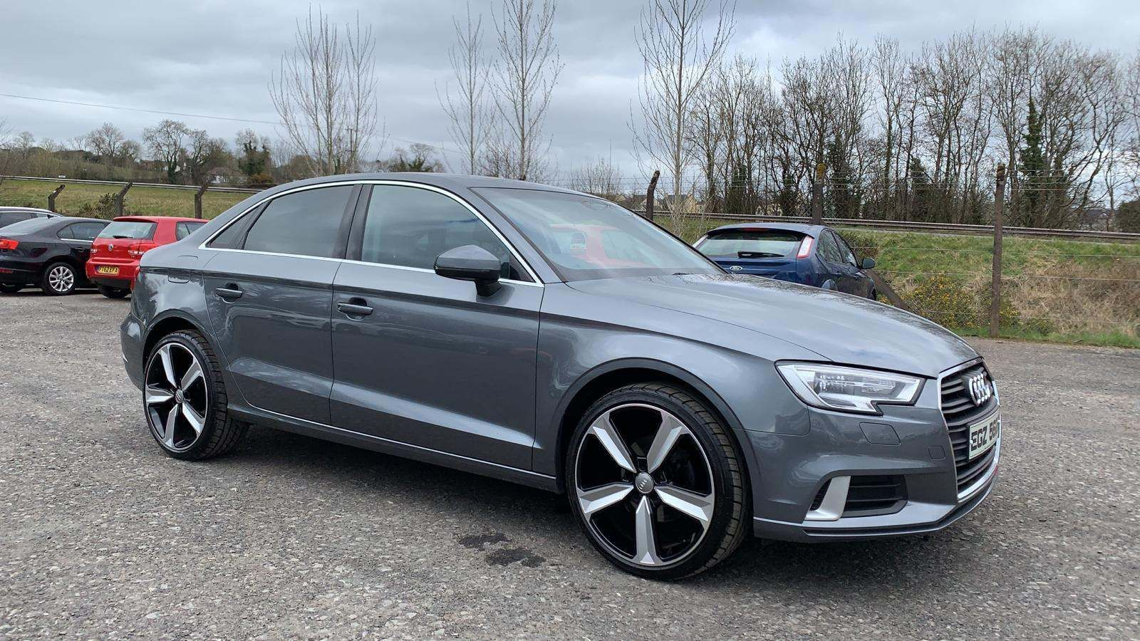 2017 AUDI A3 1.6 TDI Sport (s/s) Diesel Manual Sat Nav  £20 Road Tax 19″ Allo – J R S Commercials And Cars Dungannon