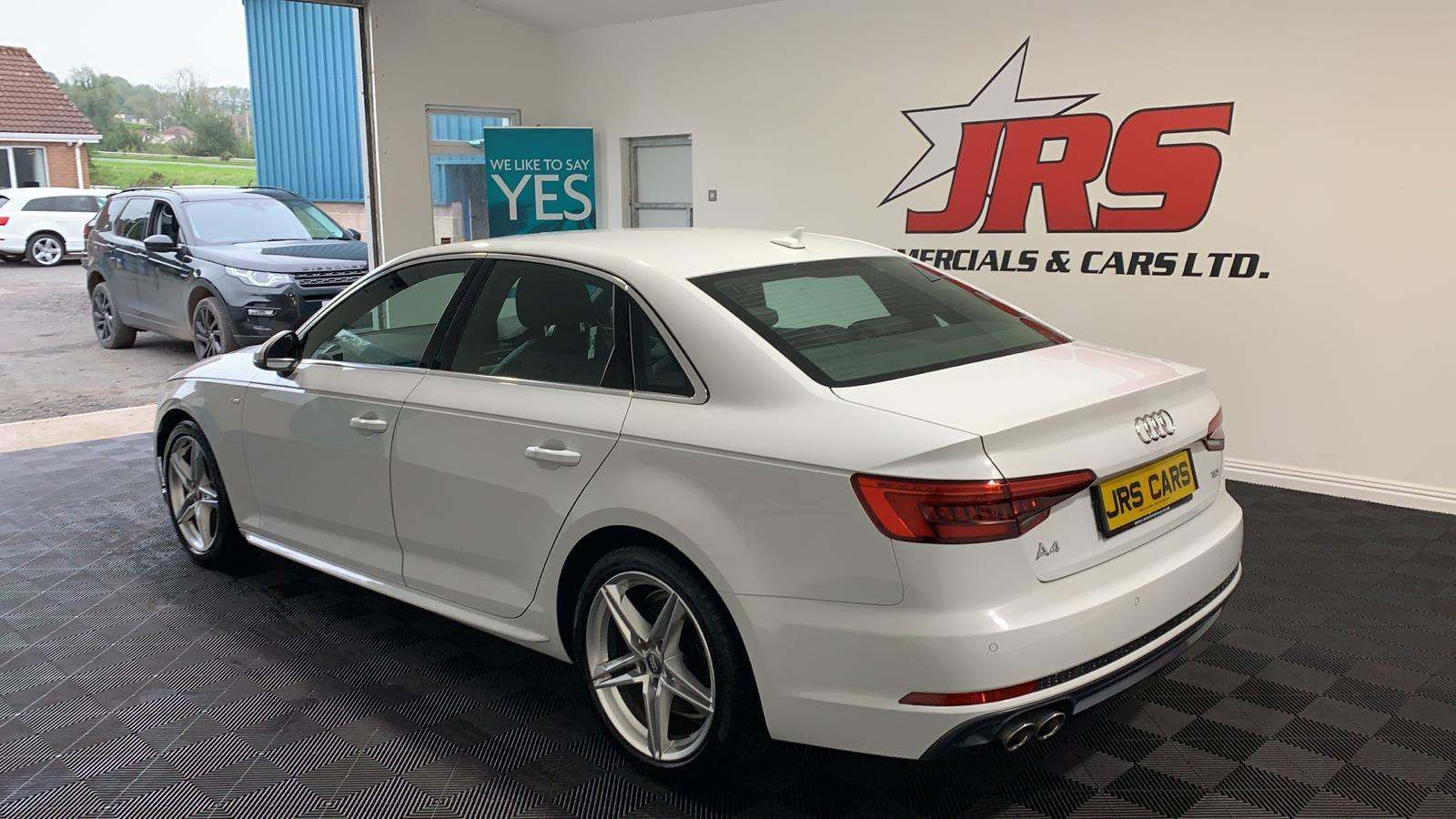 2016 AUDI A4 2.0 TDI S line S Tronic (s/s) Diesel Automatic *Glacier White Metallic* – J R S Commercials And Cars Dungannon full