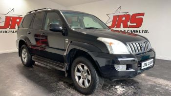 2004 TOYOTA Land Cruiser 3.0 D-4D LC4 Diesel Manual *TOW BAR-PRIVACY GLASS* – J R S Commercials And Cars Dungannon