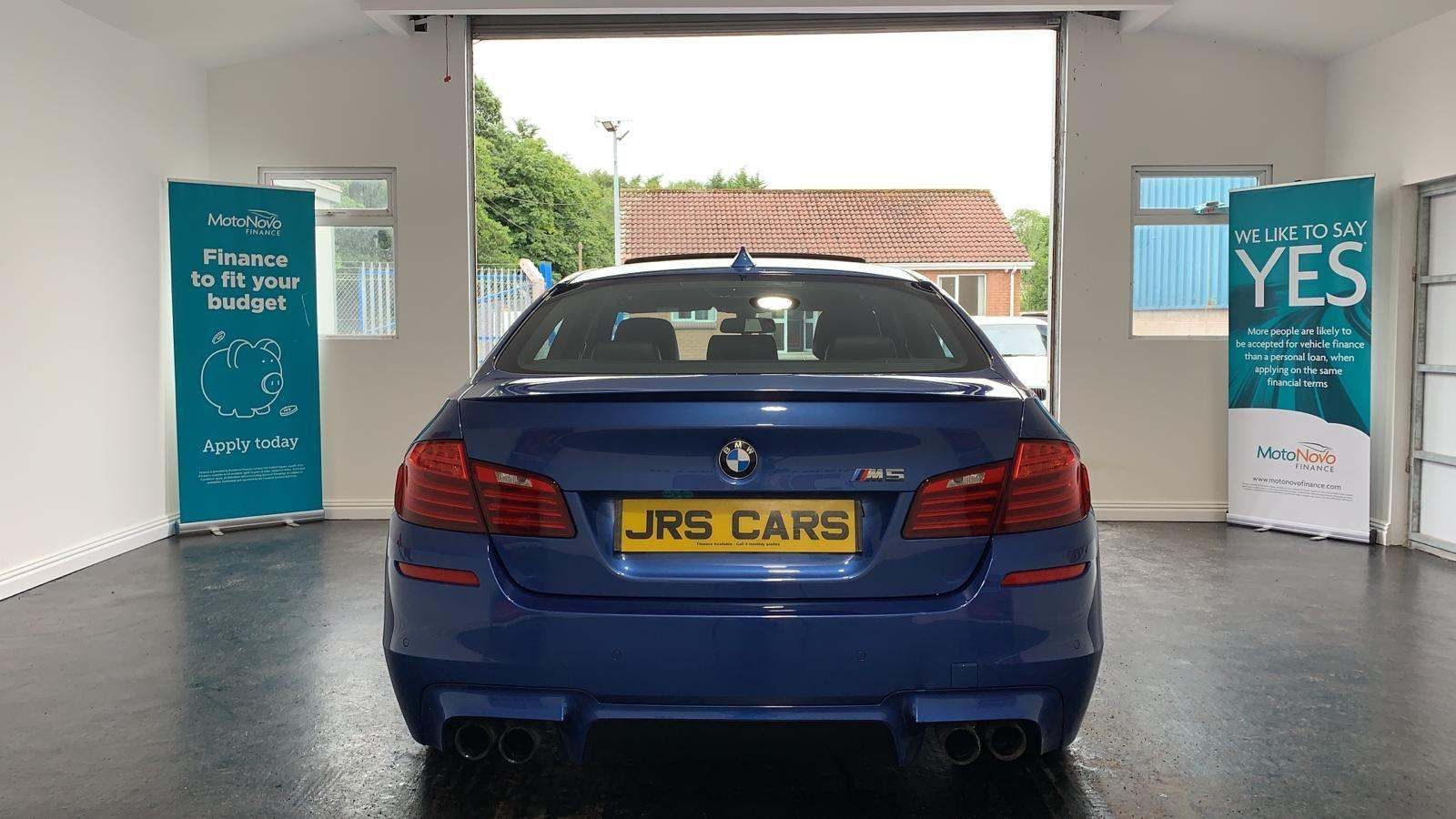 2014 BMW M5 4.4 M DCT Petrol Automatic **Monte Carlo Blue-Sun Roof** – J R S Commercials And Cars Dungannon full