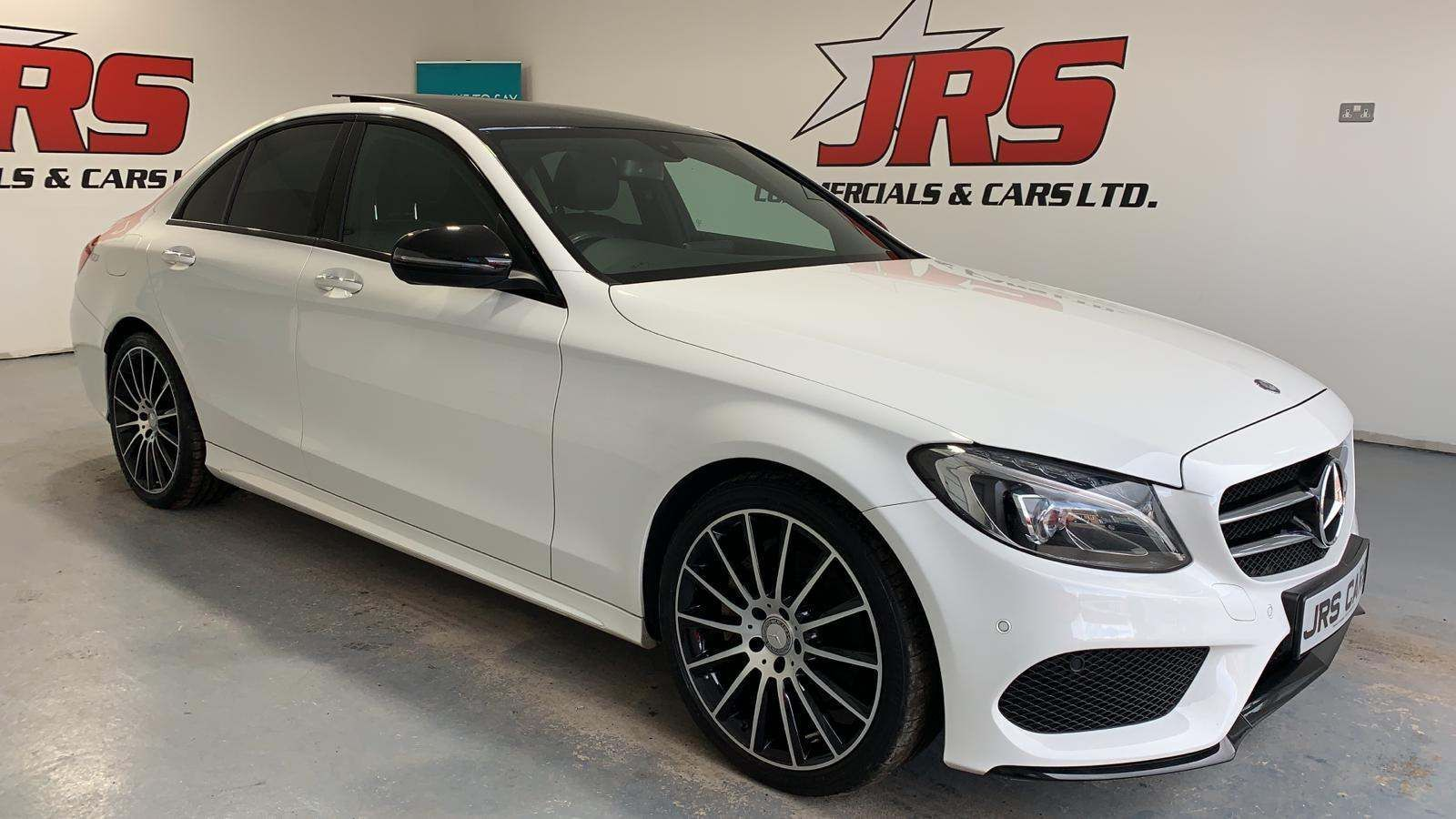 2016 MERCEDES BENZ C Class 2.1 C220d AMG Line (Premium) 7G-Tronic+ (s/s) Diesel Automatic *Panoramic Roof-Full Leather* – J R S Commercials And Cars Dungannon