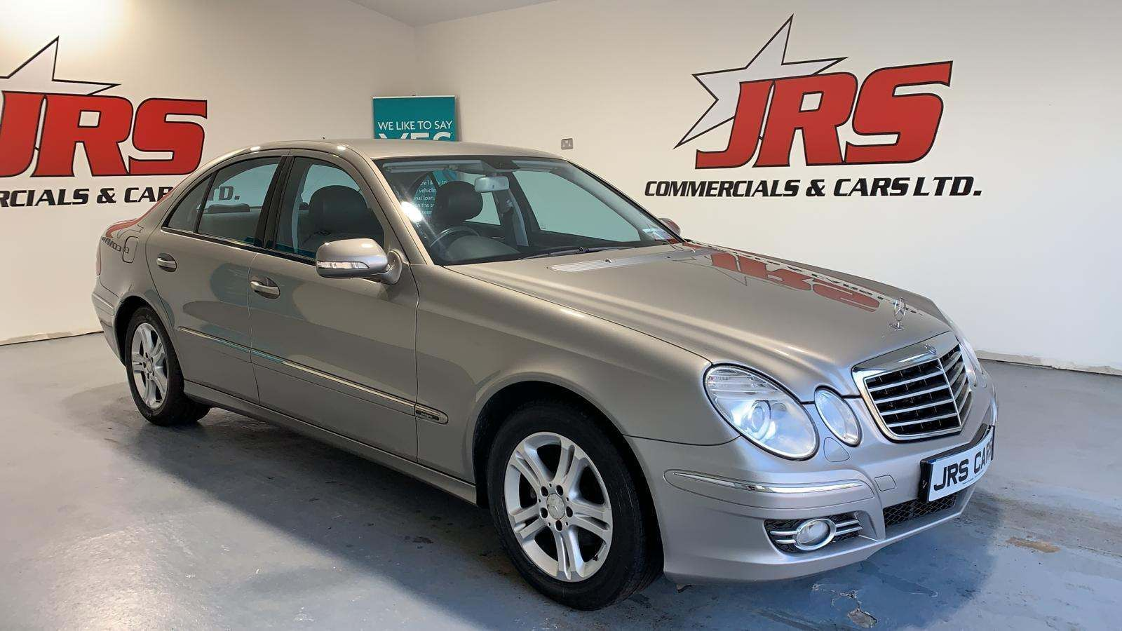 2008 MERCEDES BENZ E Class 2.1 E220 CDI Avantgarde Diesel Automatic **08-DL-5270** – J R S Commercials And Cars Dungannon