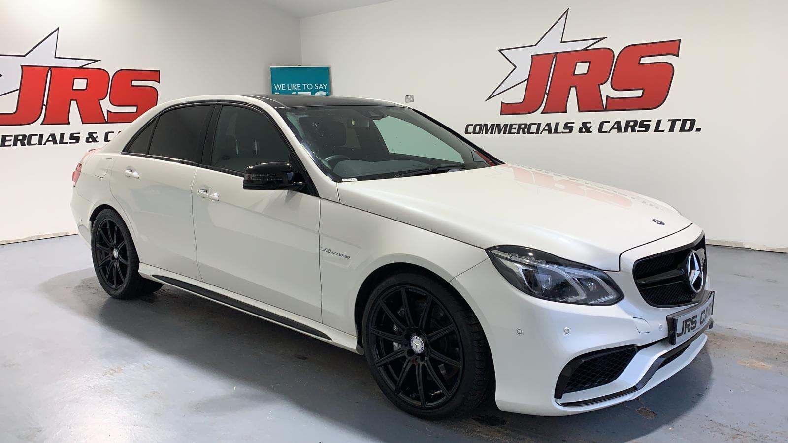 2015 MERCEDES BENZ E Class 5.5 E63 AMG MCT Petrol Automatic **PAN ROOF FULL SERVICE HIST** – J R S Commercials And Cars Dungannon