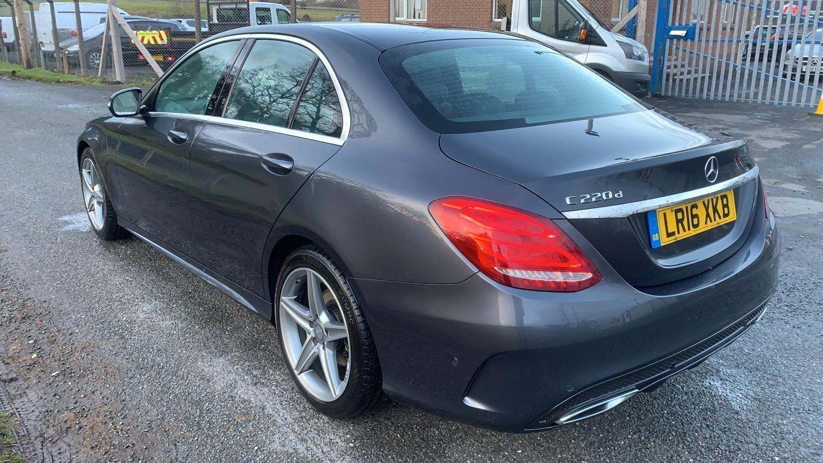 2016 MERCEDES BENZ C Class 2.1 C220d AMG Line 7G-Tronic+ (s/s) Diesel Automatic Heated Front Seats&Windscreen – J R S Commercials And Cars Dungannon full