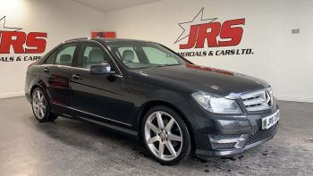 2012 MERCEDES BENZ C Class 2.1 C250 CDI BlueEFFICIENCY Sport 7G-Tronic Diesel Automatic *SAT NAV – AMG STYLING* – J R S Commercials And Cars Dungannon