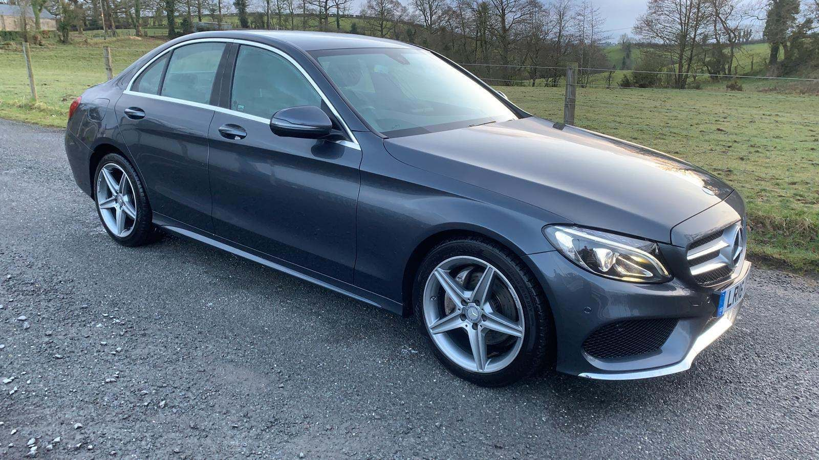 2016 MERCEDES BENZ C Class 2.1 C220d AMG Line 7G-Tronic+ (s/s) Diesel Automatic Heated Front Seats&Windscreen – J R S Commercials And Cars Dungannon